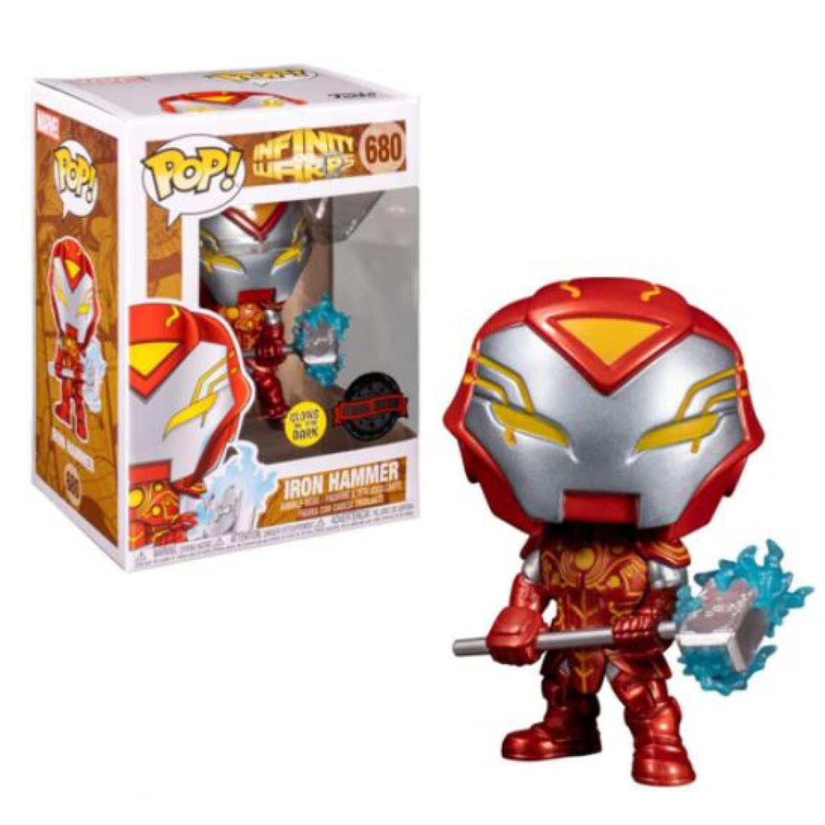 Funko POP! Infinity Warps, Iron Hammer N 36965
