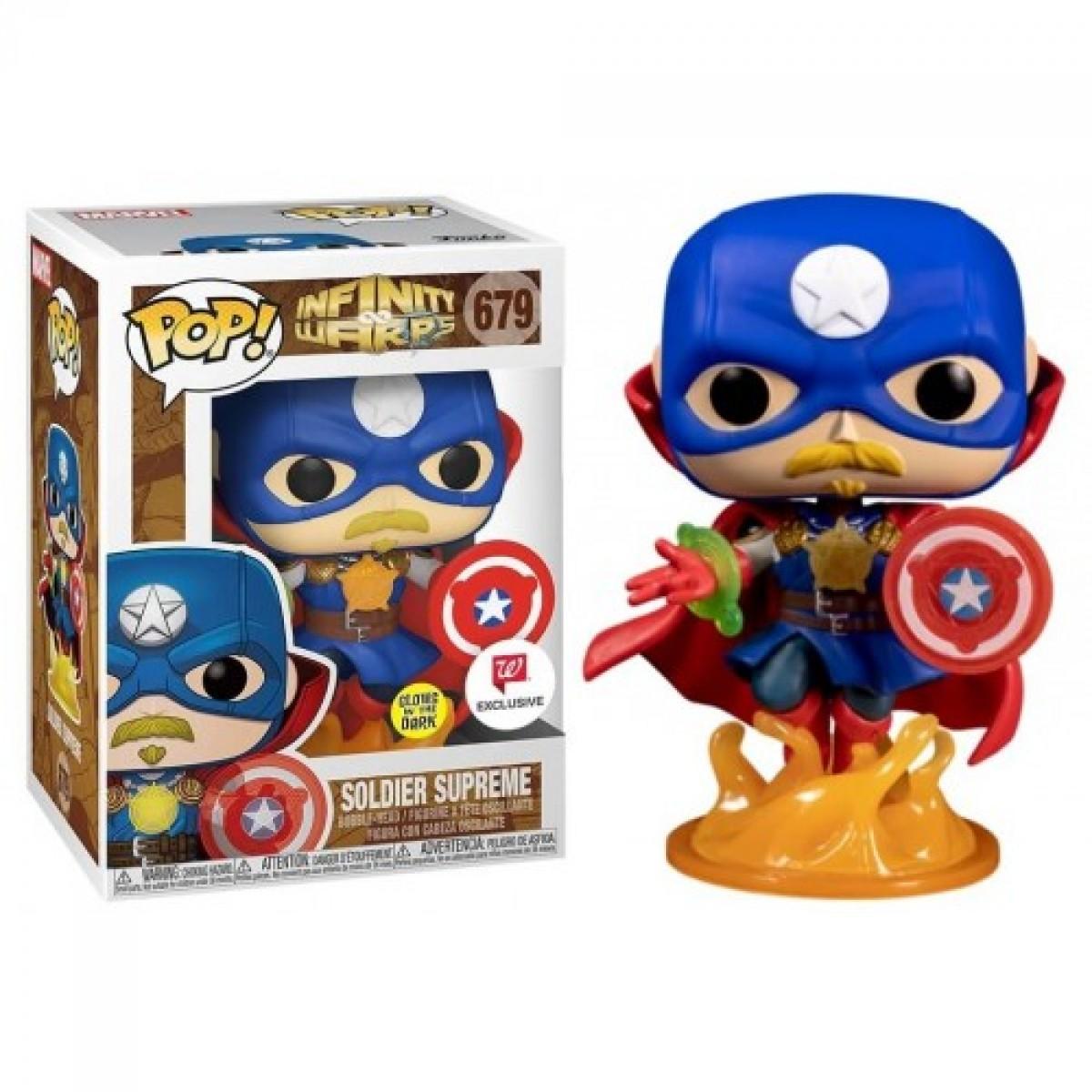 Funko POP! Infinity Warps, Soldier Supreme N 36820