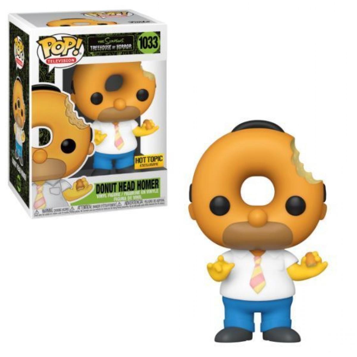 Funko POP! The Simpsons, Donut Head Homer N 39826