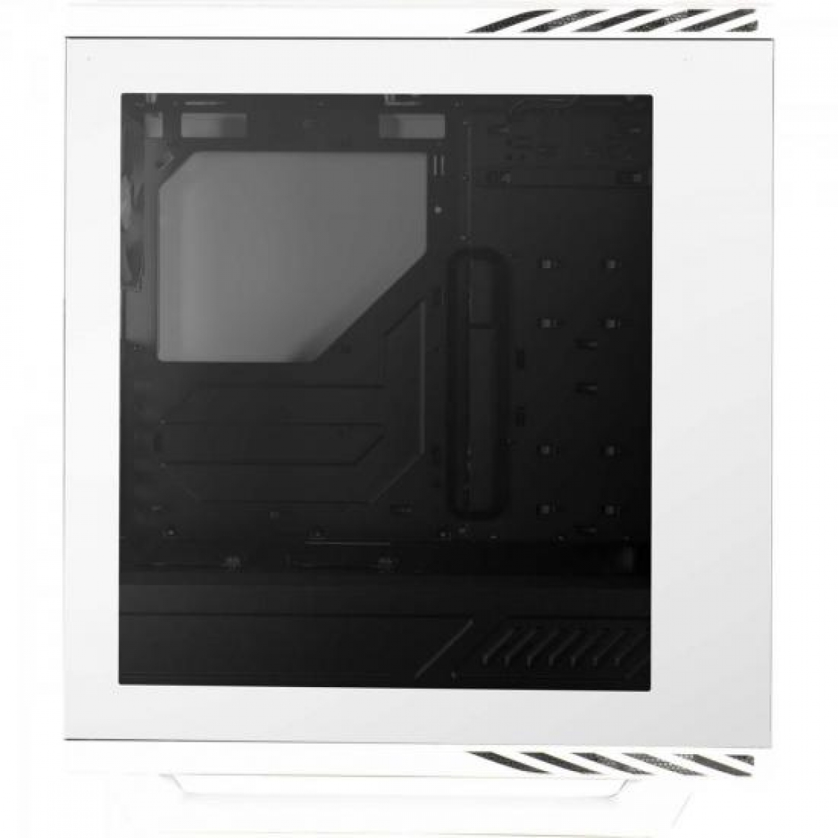 Gabinete Gamer Aerocool Project 7, Mid Tower, Com 1 Fan, Lateral em Acrílico, White, Sem Fonte, P7-C1