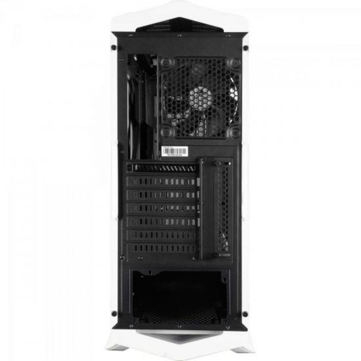 Gabinete Gamer Aerocool Project 7, Mid Tower, Com 1 Fan, Vidro Temperado, White, Sem Fonte, P7-C1 WG