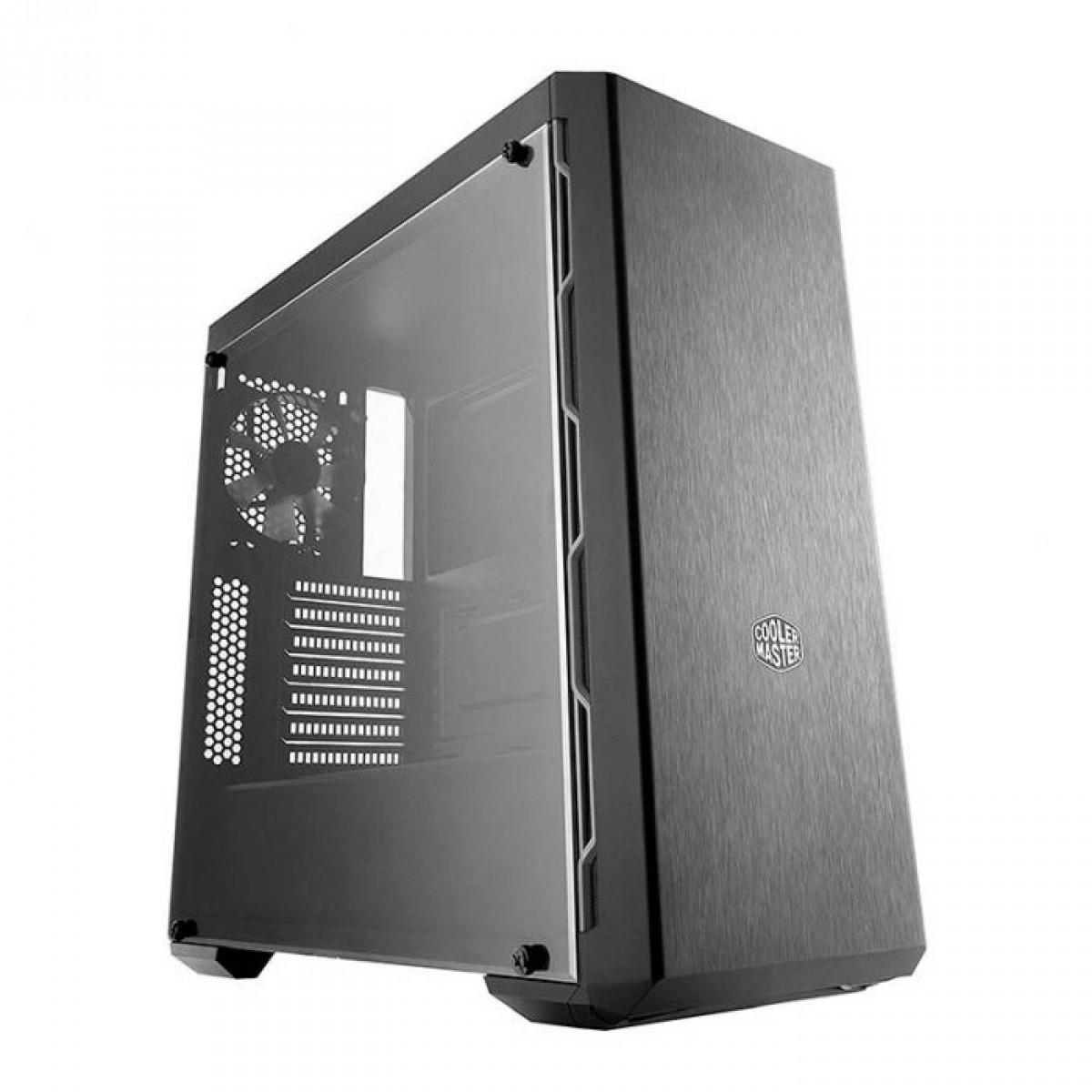 Gabinete Cooler Master MASTERBOX MB600L Cinza, Sem Fonte, Com 1 Fan, MCB-B600L-KANN-S02