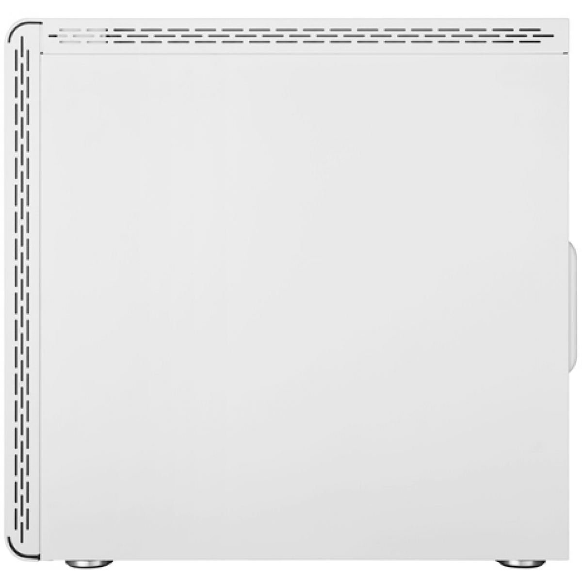Gabinete Gamer Cooler Master MasterBox MS600, Mid Tower, Vidro Temperado, White, Sem Fonte, Com 1 Fan, MCB-MS600-WGNN-S00
