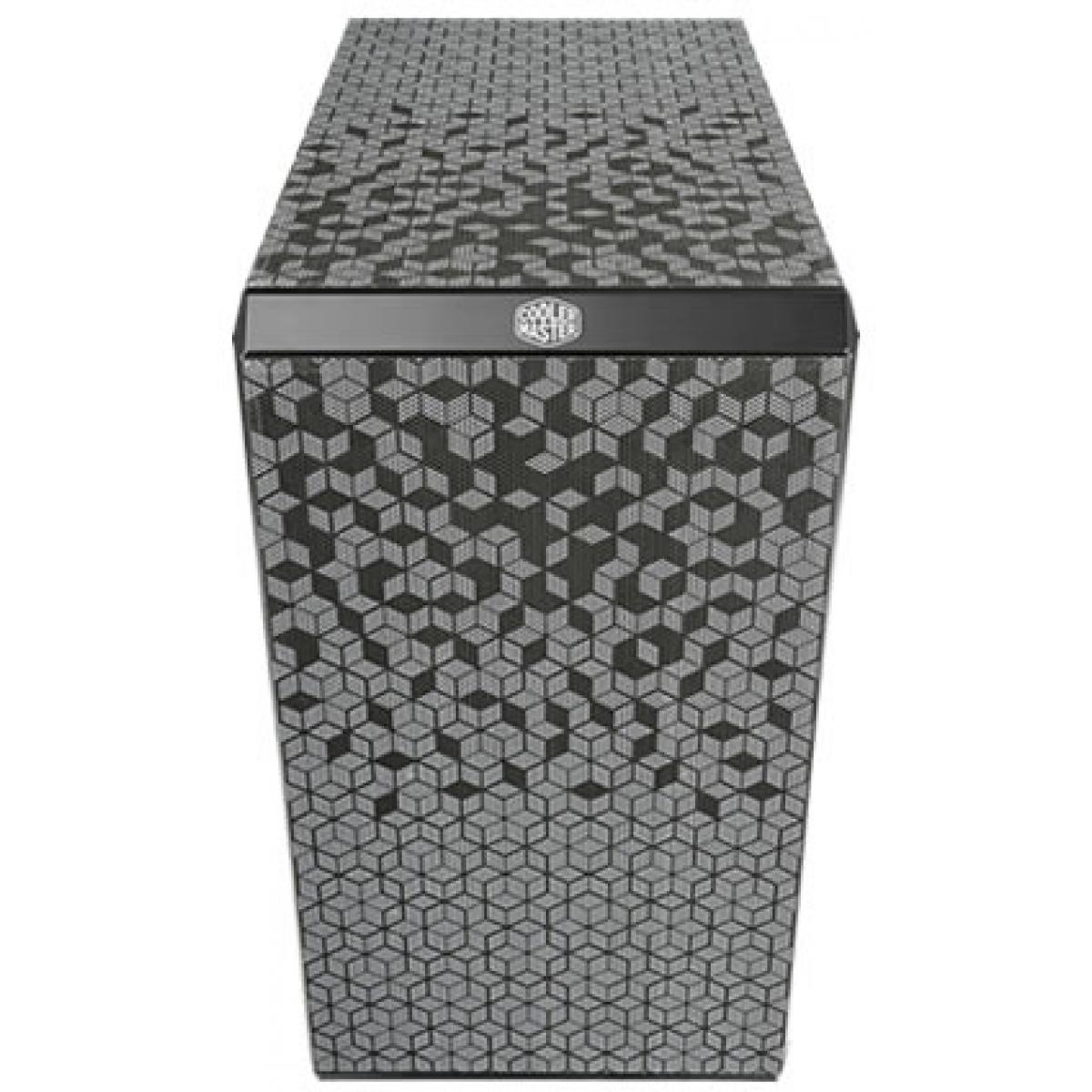 Gabinete Gamer Cooler Master Masterbox Q300L, Mini Tower, Com 1 Fan, Black, S-Fonte, MCB-Q300L-KANN-S00