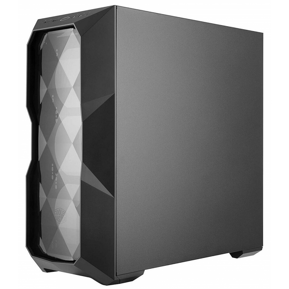 Gabinete Gamer Cooler Master Masterbox TD500L, Mid Tower, Lateral em Acrílico, Black, Sem Fonte, Com 1 Fan, MCB-D500L-KANN-S00