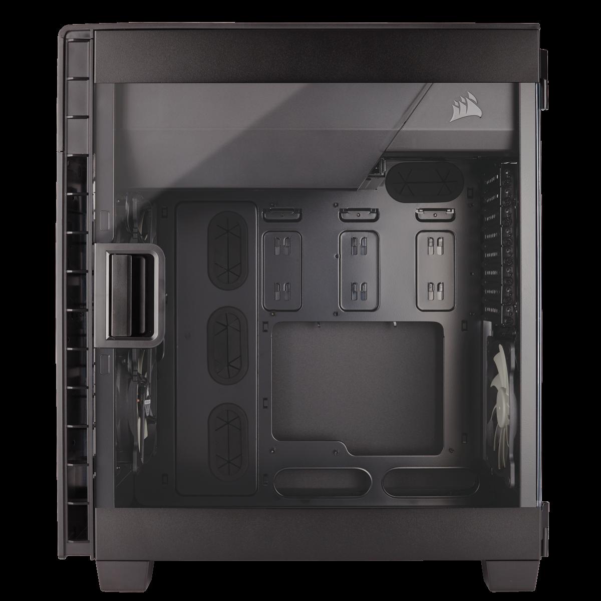 Gabinete Gamer Corsair Carbide Clear 600C Inverse, Full Tower, Com 3 Fans, Lateral em Acrílico, Sem Fonte, CC-9011079-WW