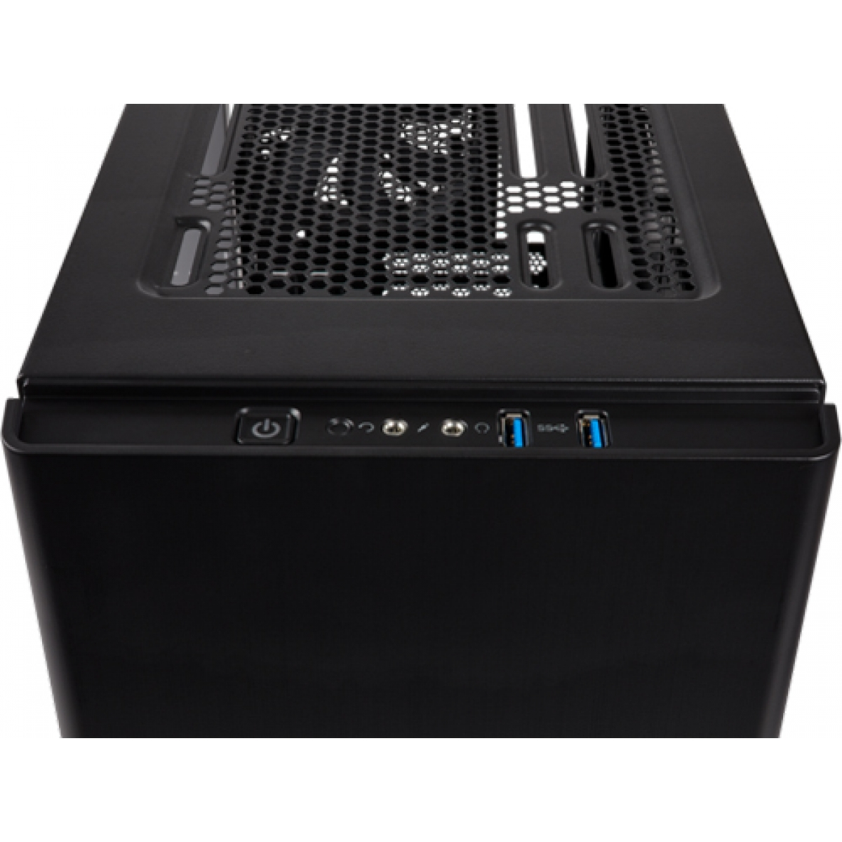Gabinete Gamer Corsair Carbide 275R, Mid Tower, Com 2 Fans, Lateral de Acrílico, Black, S-Fonte CC-9011130-WW