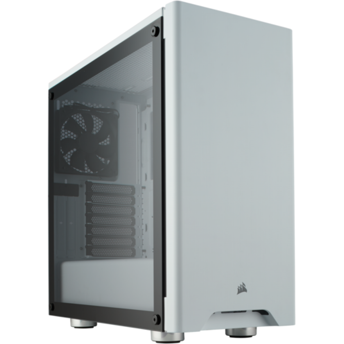 Gabinete Gamer Corsair Carbide 275R, Mid Tower, Com 2 Fans, Vidro Temperado, White, S-Fonte CC-9011133-WW