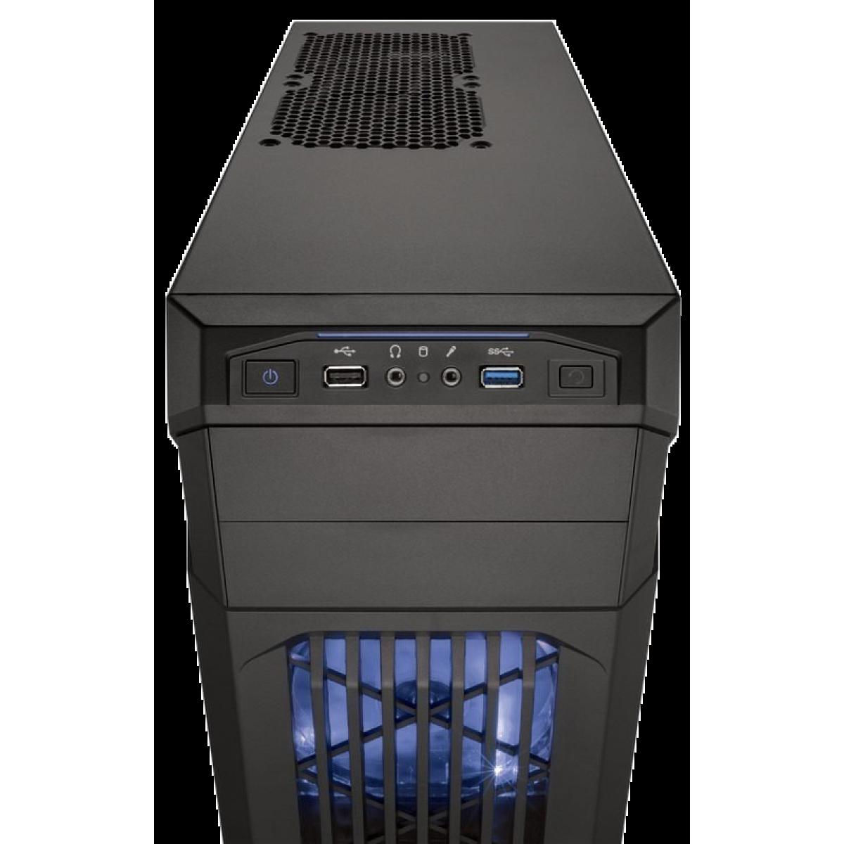 Gabinete Corsair Carbide Series SPEC-01 Azul Mid Tower s/Fonte