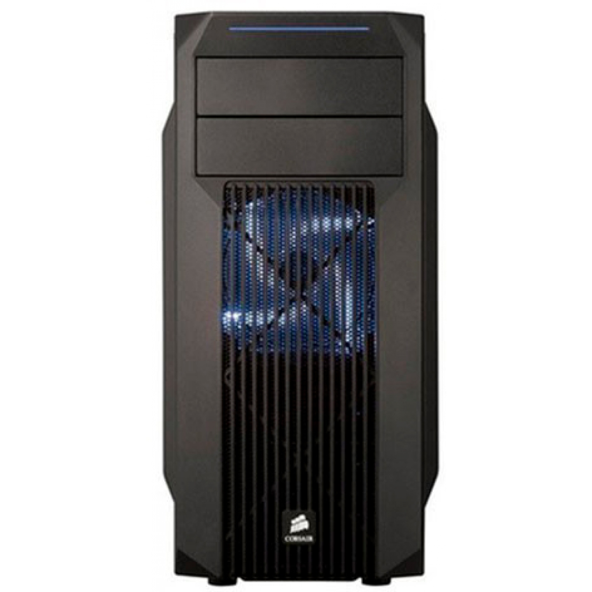 Gabinete Gamer Corsair Carbide SPEC-02, Mid Tower, Com 2 Fans, Lateral em Acrílico, Black, S-Fonte, CC-9011057-WW
