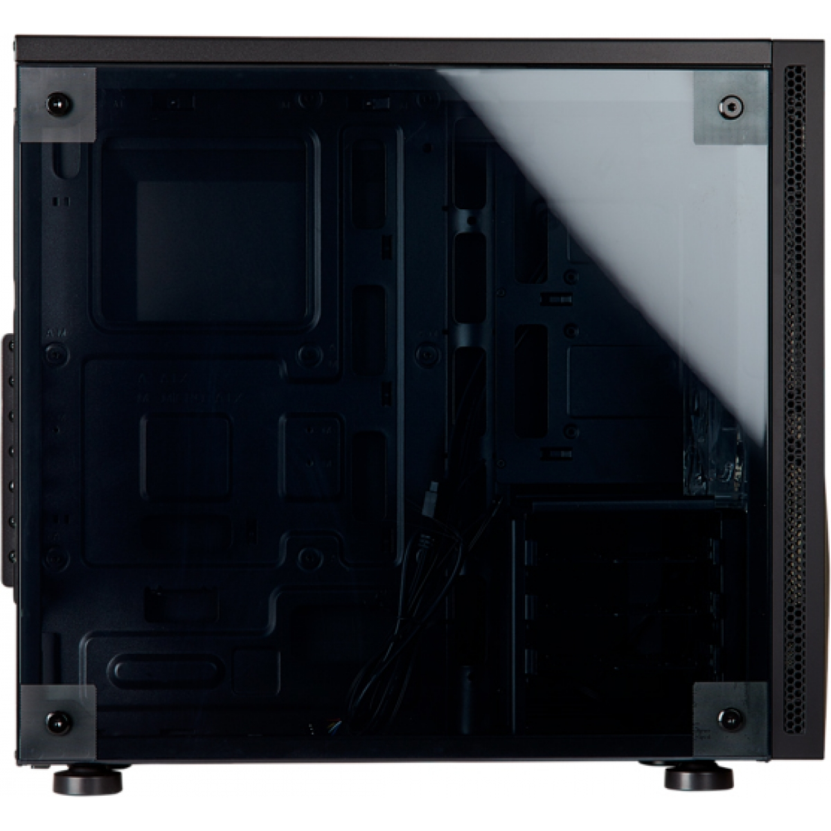 Gabinete Gamer Corsair Carbide SPEC-05, Mid Tower, Com 1 Fan, Lateral de Acrílico, Black, S-Fonte, CC-9011138-WW