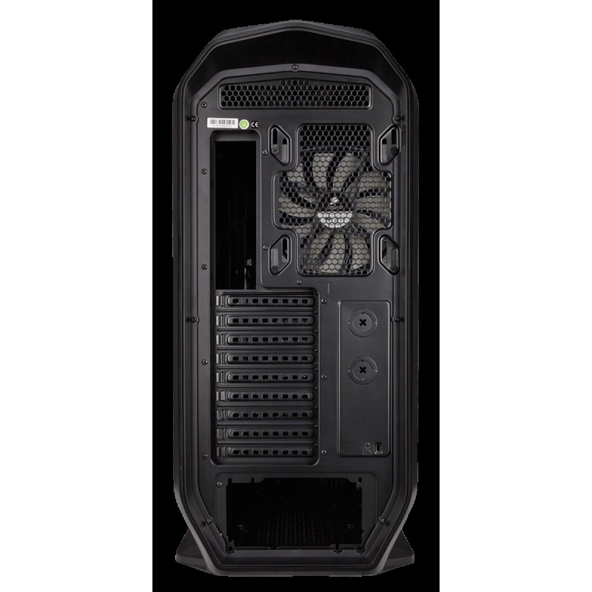 Gabinete Gamer Corsair, Graphite 780T, Full Tower, Acrílico, Black, Sem Fonte, Com 3 Fans