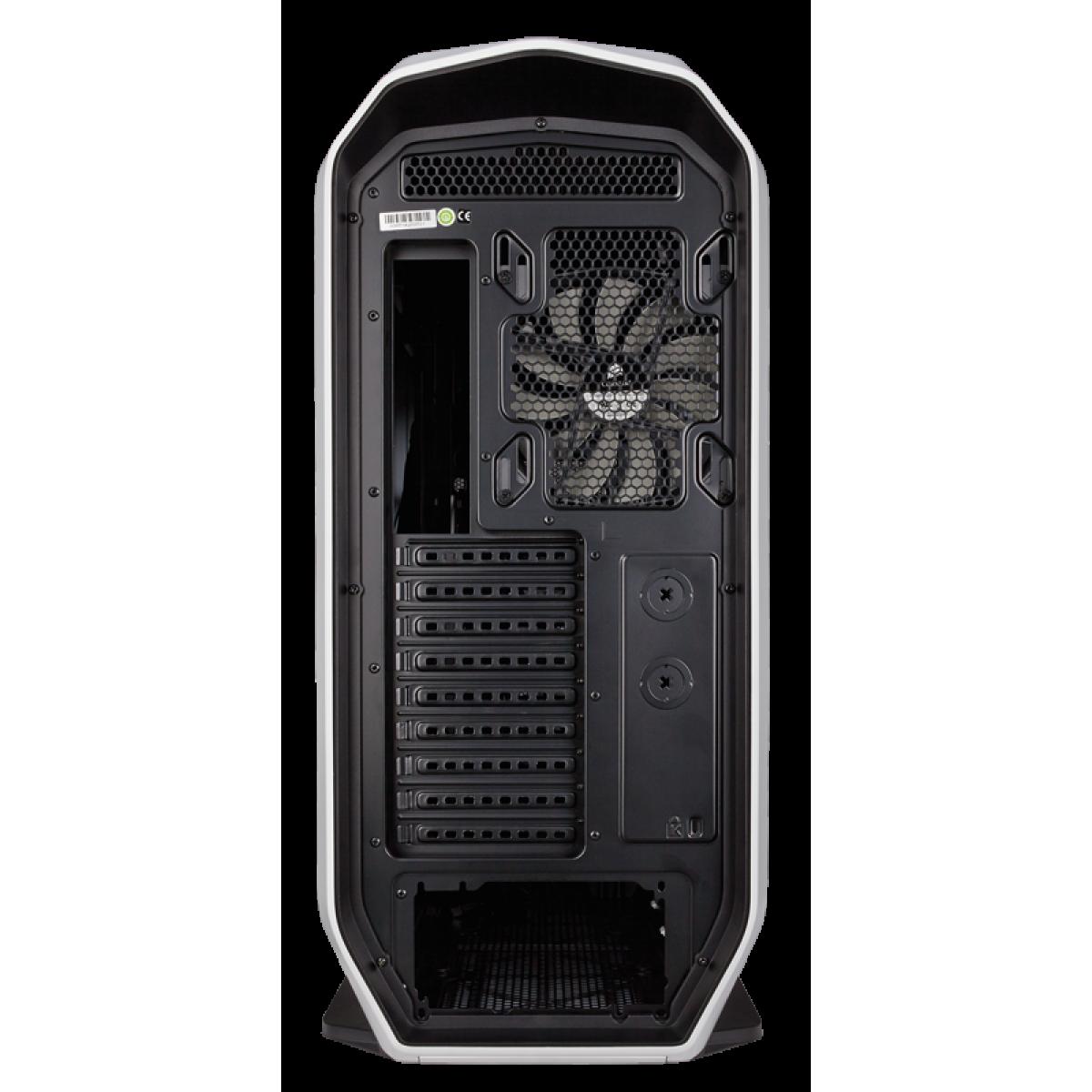 Gabinete Gamer Corsair Graphite 780T, Full Tower, Com 3 Fans, Lateral em Acrílico, White, Sem Fonte, CC-9011059-WW