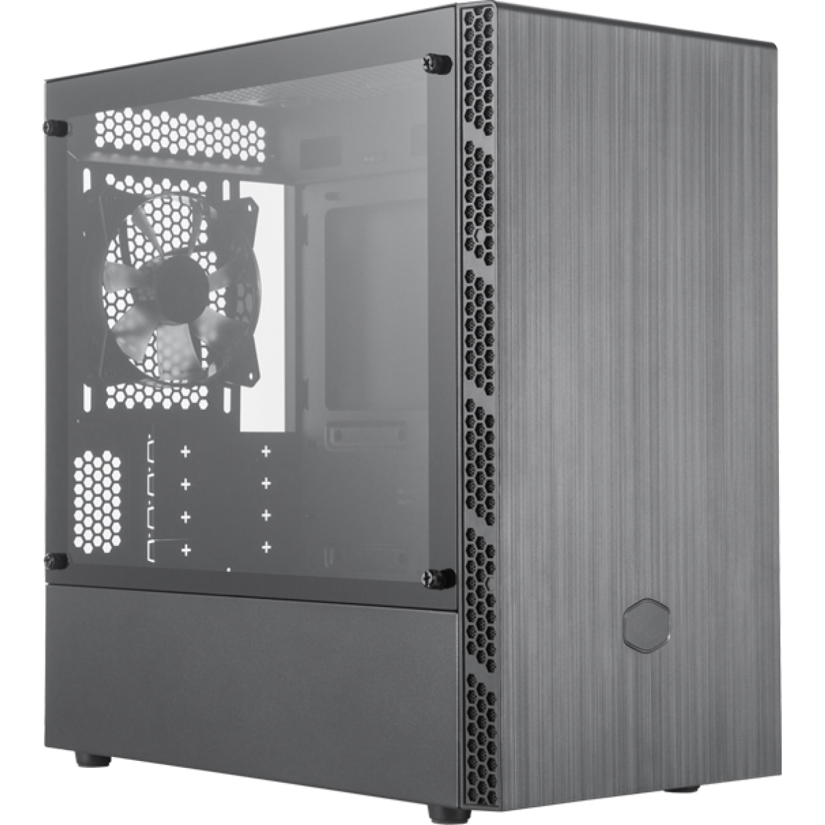 Gabinete Gamer Cooler Master Masterbox MB400L, Mid Tower, Black, Sem Fonte, Com 1 Fan, MCB-B400L-KGNN-S00
