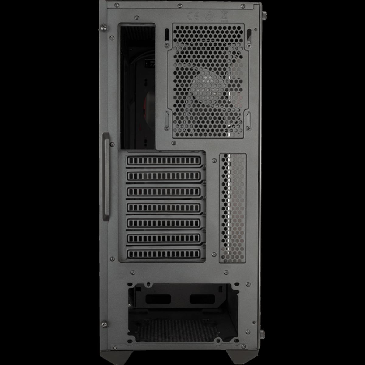 Gabinete Gamer Cooler Master Masterbox MB510L, Mid Tower, Com 1 Fan, Black, S-Fonte, MCB-B510L-KANN-S00