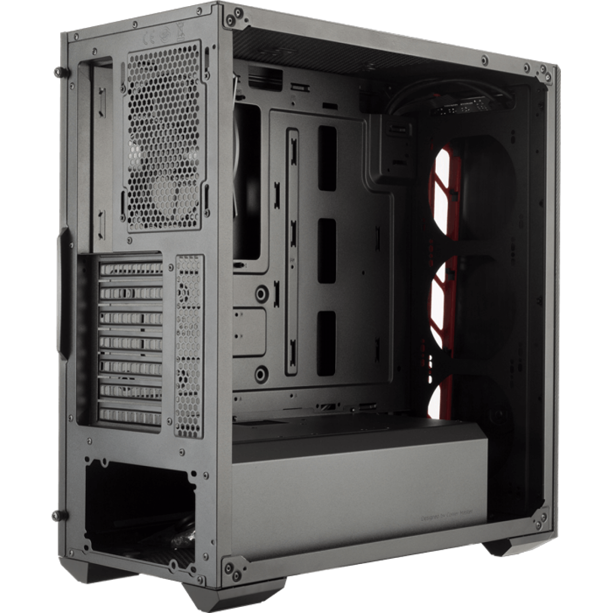Gabinete Gamer Cooler Master Masterbox MB510L, Mid Tower, Black, Sem Fonte, Com 1 Fan, MCB-B510L-KANN-S00