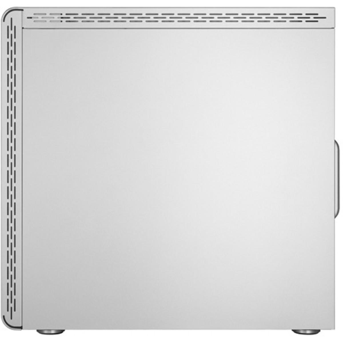 Gabinete Gamer Cooler Master MasterBox MS600, Mid Tower, Com 1 Fan, Vidro Temperado, Silver, S-Fonte, MCB-MS600-SGNN-S00