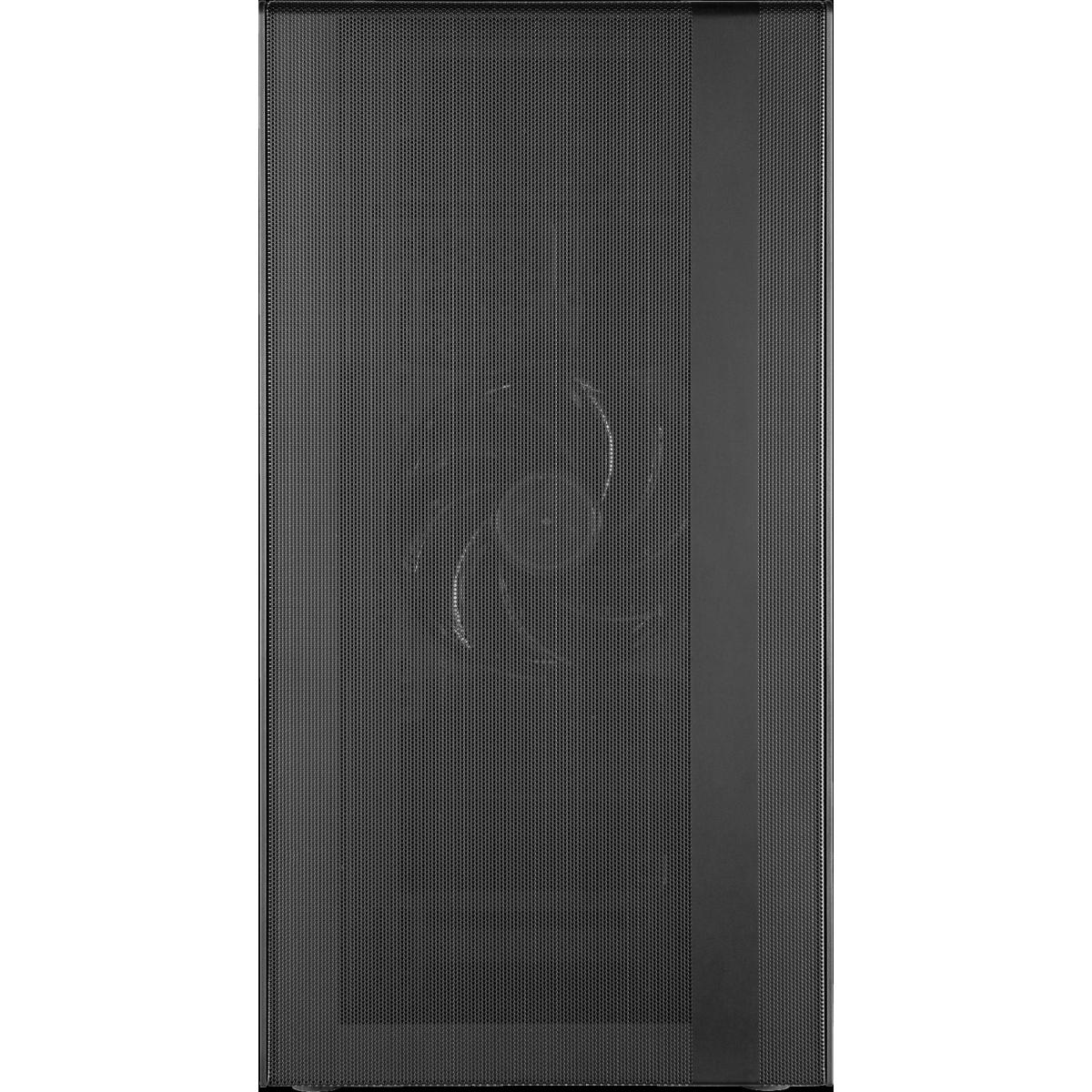 Gabinete Gamer Cooler Master MasterBox NR400, Mini Tower, Vidro Temperado, Com 2 Fans, Black, Sem Fonte, MCB-NR400-KGNN-S00