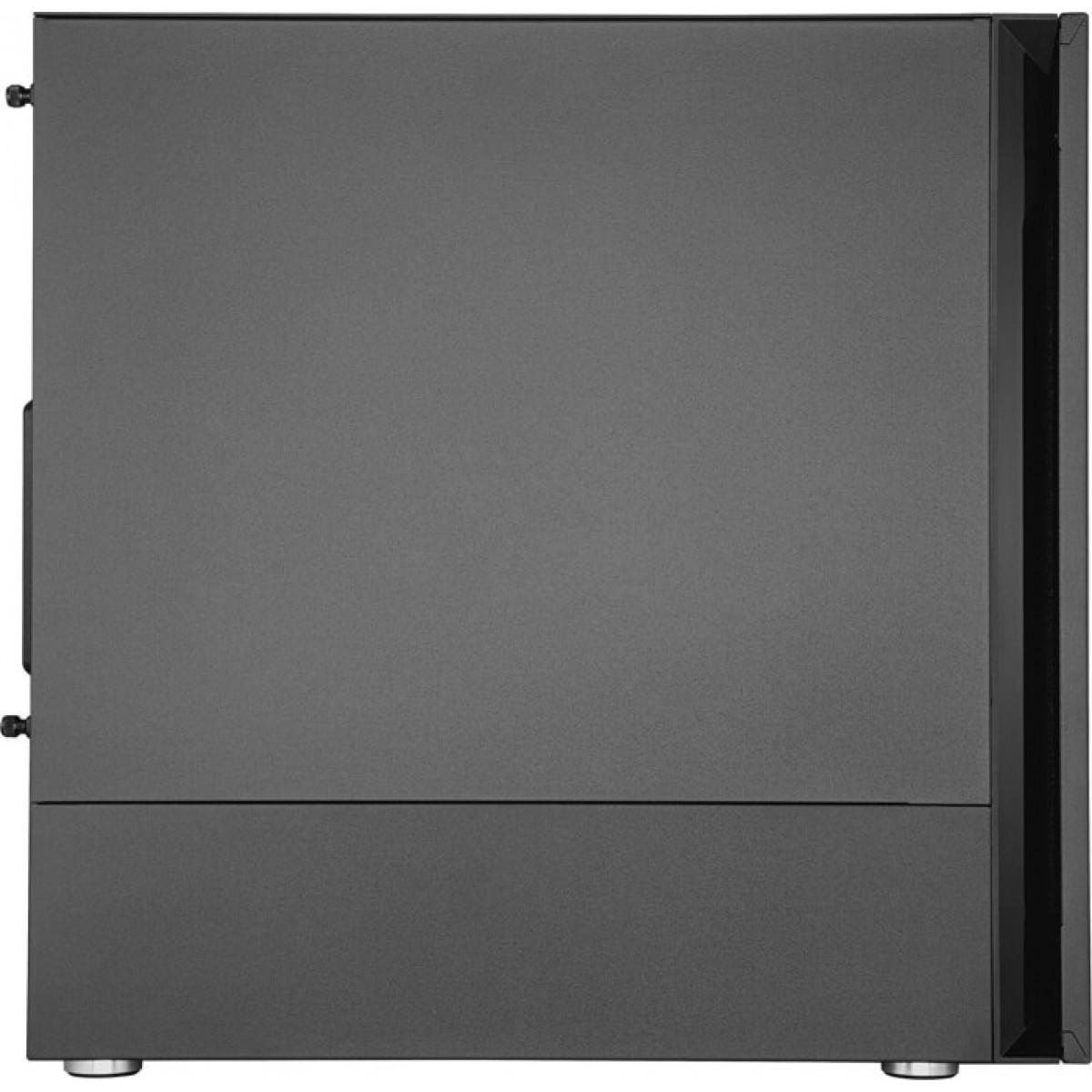 Gabinete Gamer Cooler Master Silencio S400, Mid Tower, Black, MCS-S400-KG5N-S00, Sem Fonte, Com 2 Fans