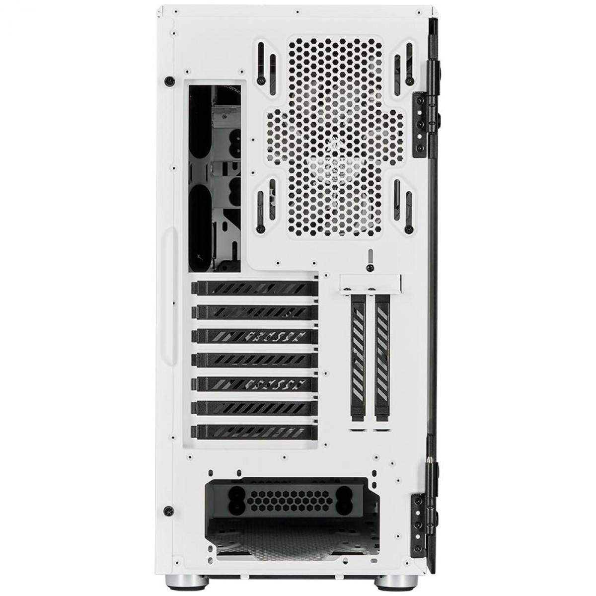 Gabinete Gamer Corsair Carbide 678C, Mid Tower, Vidro Temperado, ATX, White, Com 3 Fans, CC-9011170-WW