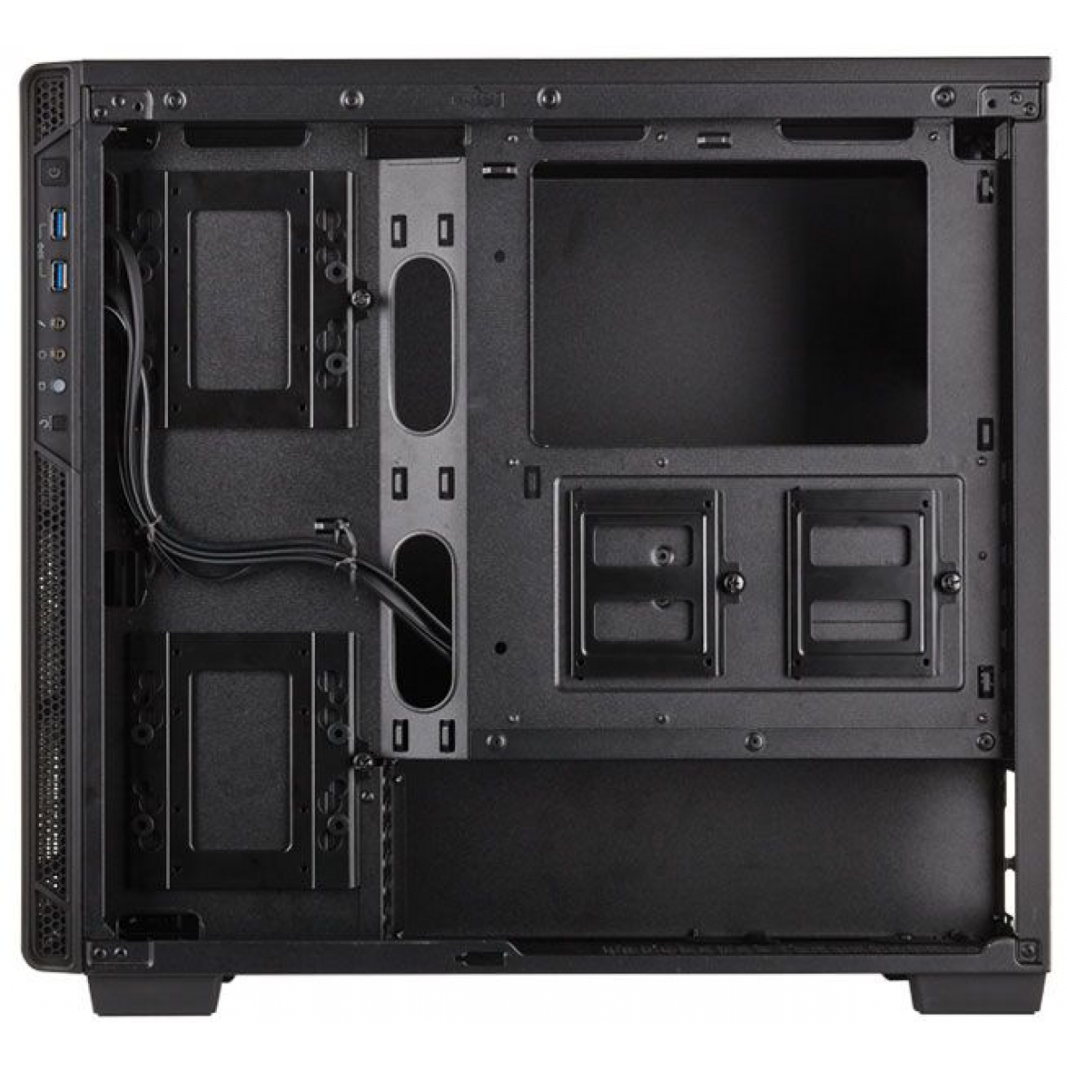 Gabinete Gamer Corsair Carbide 270R, Mid Tower, Com 2 Fans, Lateral em Acrílico, Black, S-Fonte, CC-9011105-WW