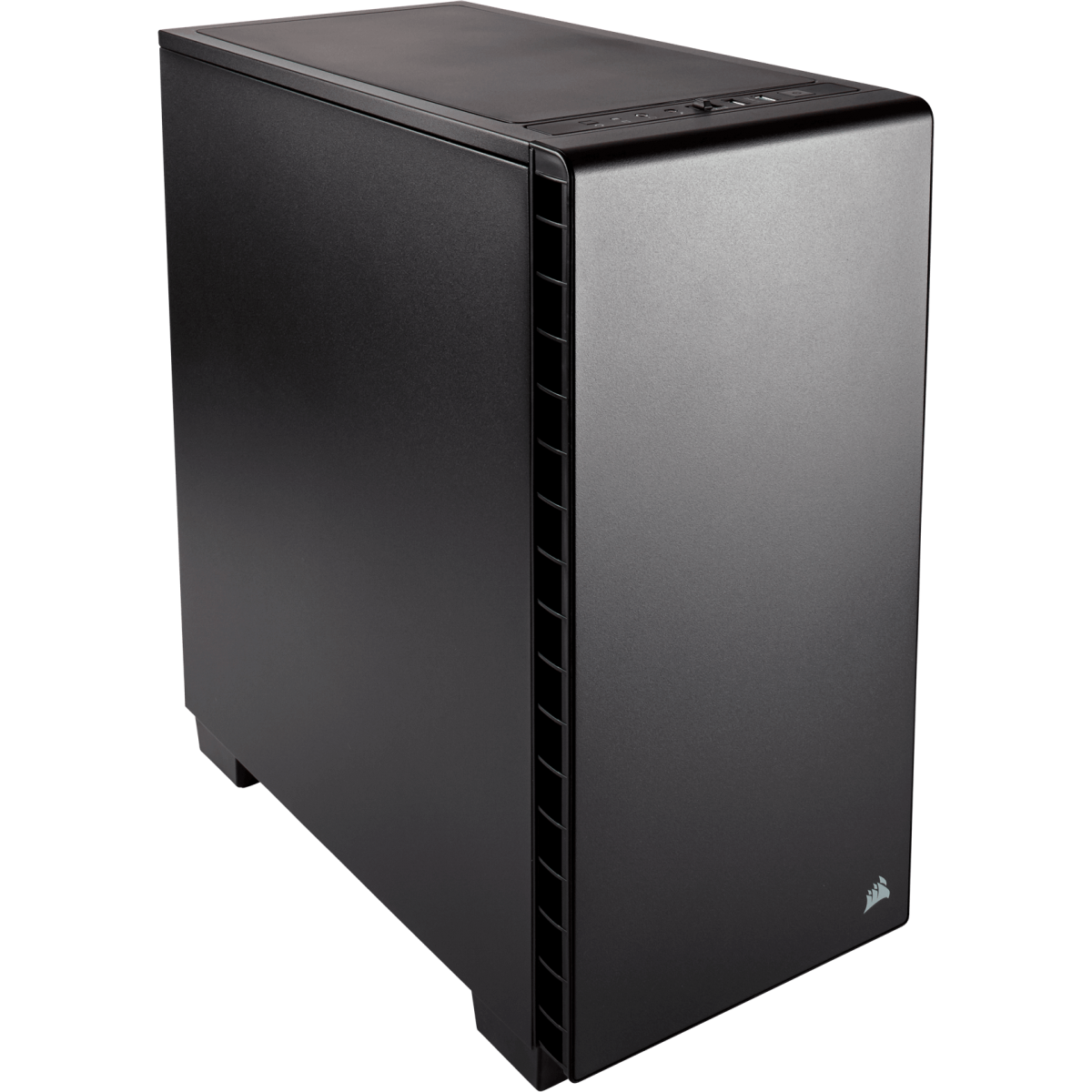 Gabinete Gamer Corsair Carbide Quiet 400Q, Mid Tower, Com 2 Fans, Black, Sem Fonte, CC-9011100-WW