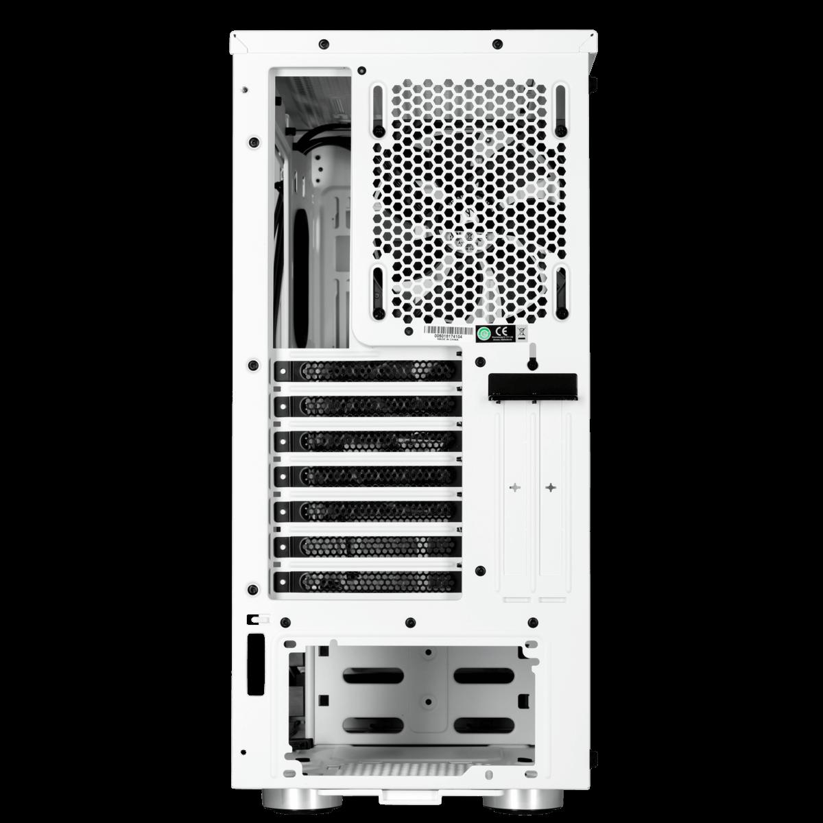 Gabinete Gamer Corsair Carbide SPEC-06, Mid Tower, Com 2 Fan, Vidro temperado, White, Sem Fonte, CC-9011145-WW