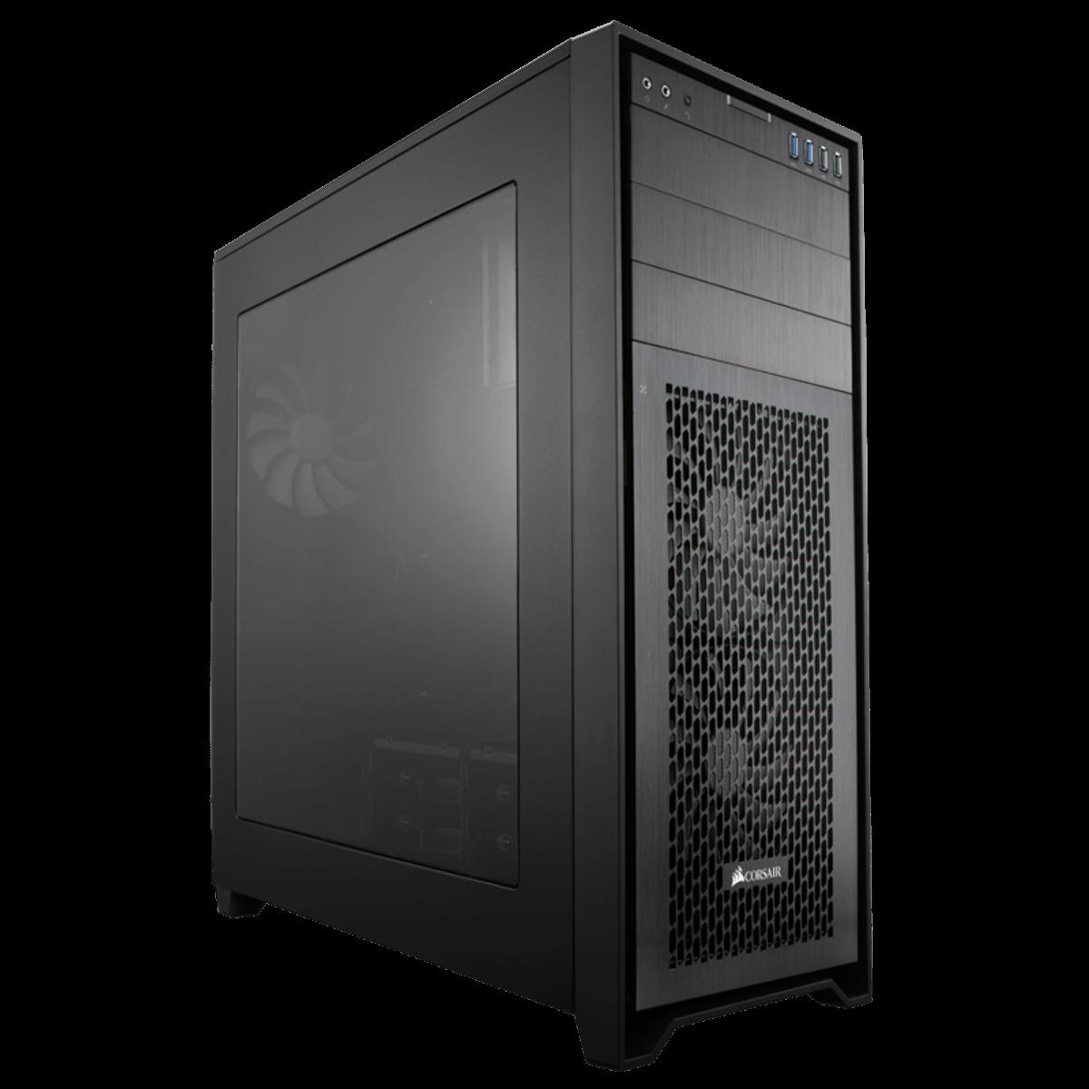 Gabinete Gamer Corsair Obsidian 750D Airflow Edition, Full Tower, Com 3 Fans, Black, Sem Fonte, CC-9011078-WW
