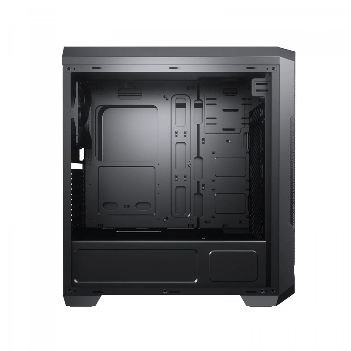 Gabinete Gamer Cougar, MX331 Mesh, Mid-Tower, Black, 385NC20.0004, Sem Fonte, Com 1 Fan
