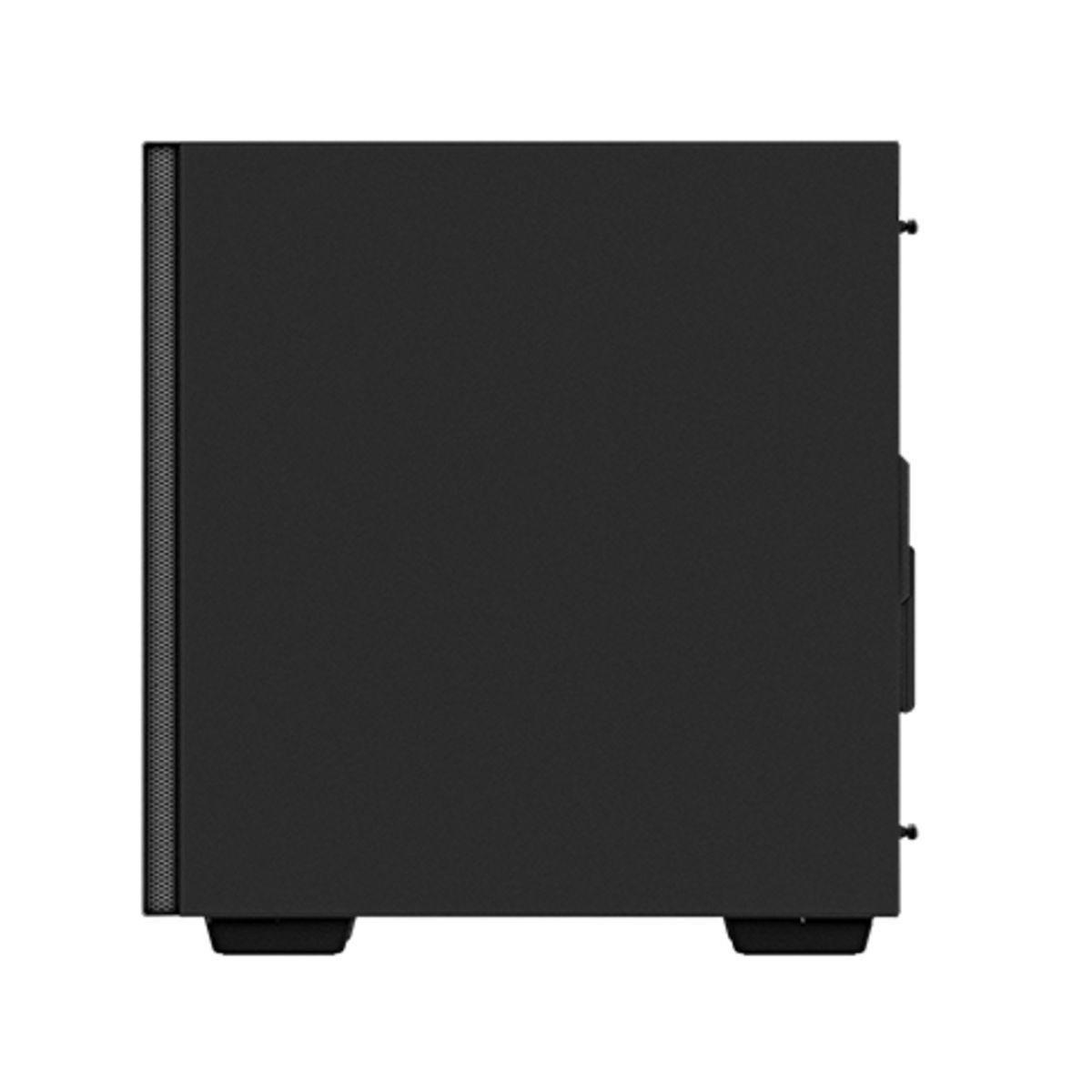 Gabinete Gamer DeepCool Macube 110, Mid Tower, Vidro Temperado, Black, Sem Fonte, Sem Fan, R-MACUBE110-BKNGM0NB-1