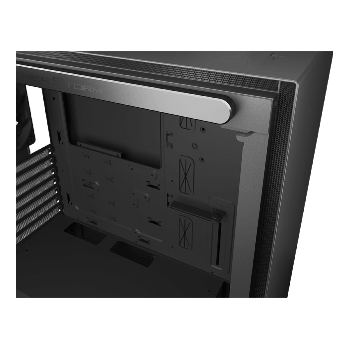 Gabinete Gamer DeepCool Macube 310, Mid Tower, S-Fan, Vidro Temperado, Black, S-Fonte, GS-ATX-MACUBE310-BKG0P