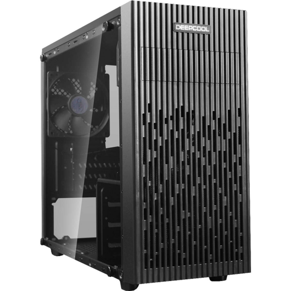 Gabinete Gamer DeepCool Matrexx 30, Mini Tower, Vidro Temperado, Black, Sem Fonte, DP-MATX-MATREXX30