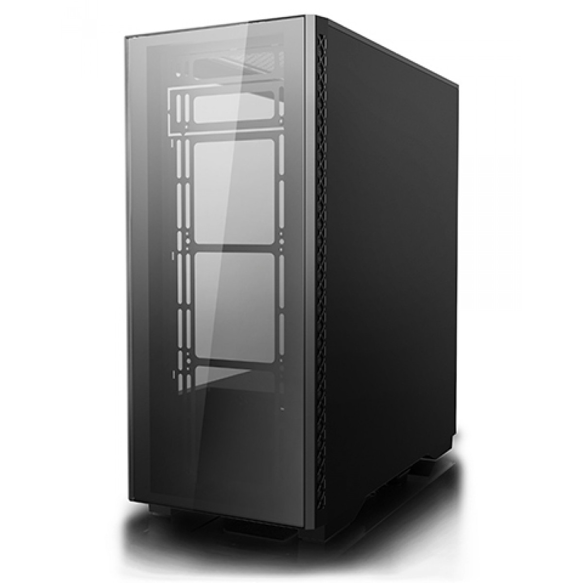 Gabinete Gamer DeepCool Matrexx 50, Mid Tower, Com 1 Fan, Vidro temperado, Black, S-Fonte, DP-ATX-MATREXX50