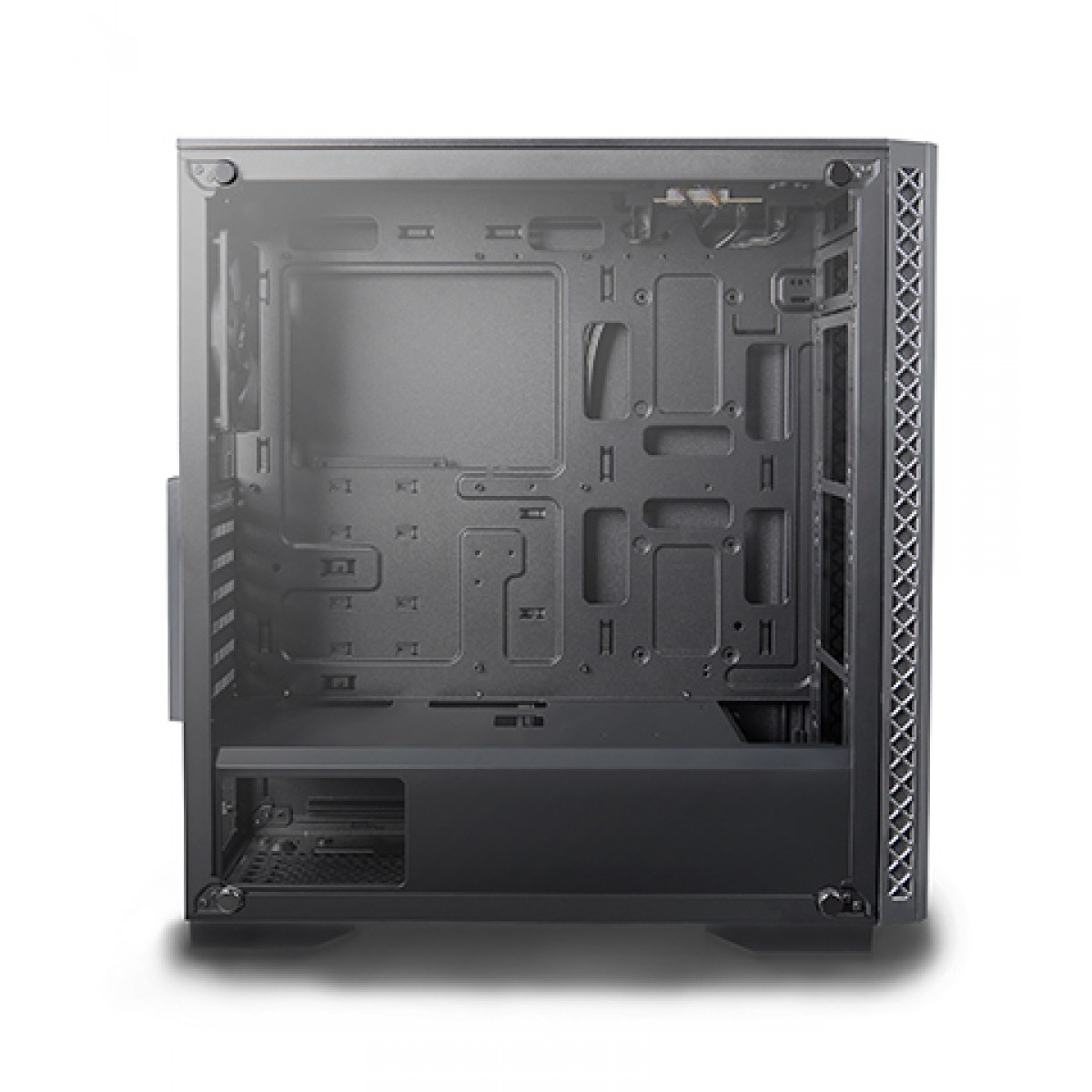 Gabinete Gamer DeepCool Matrexx 50, Mid Tower, Vidro temperado, Black, Sem Fonte, Sem Fan, DP-ATX-MATREXX50-BR