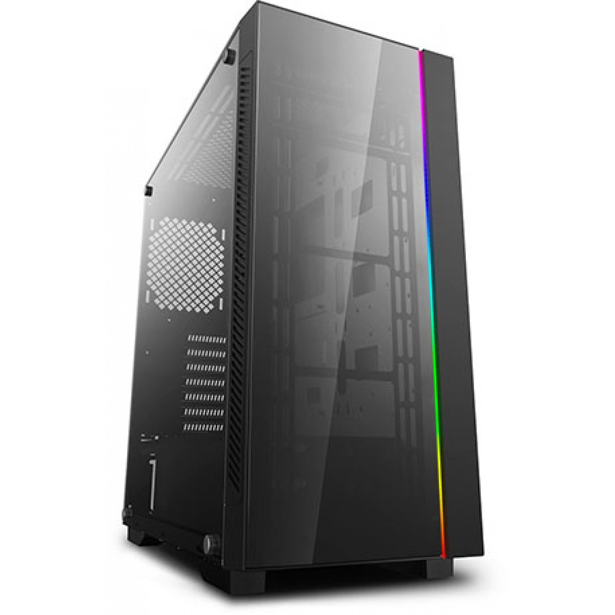 Gabinete Gamer DeepCool MATREXX 55 ADD-RGB V3, Mid Tower, Vidro Temperado, Black, Sem Fonte, Sem Fan