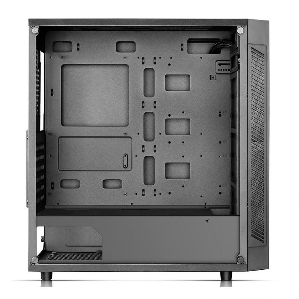 Gabinete Gamer DeepCool Matrexx 55 V3, Mid Tower, ARGB, Vidro Temperado, Black, DP-ATX-MATREXX55-AR-3F, Sem Fonte, Com 3 Fans