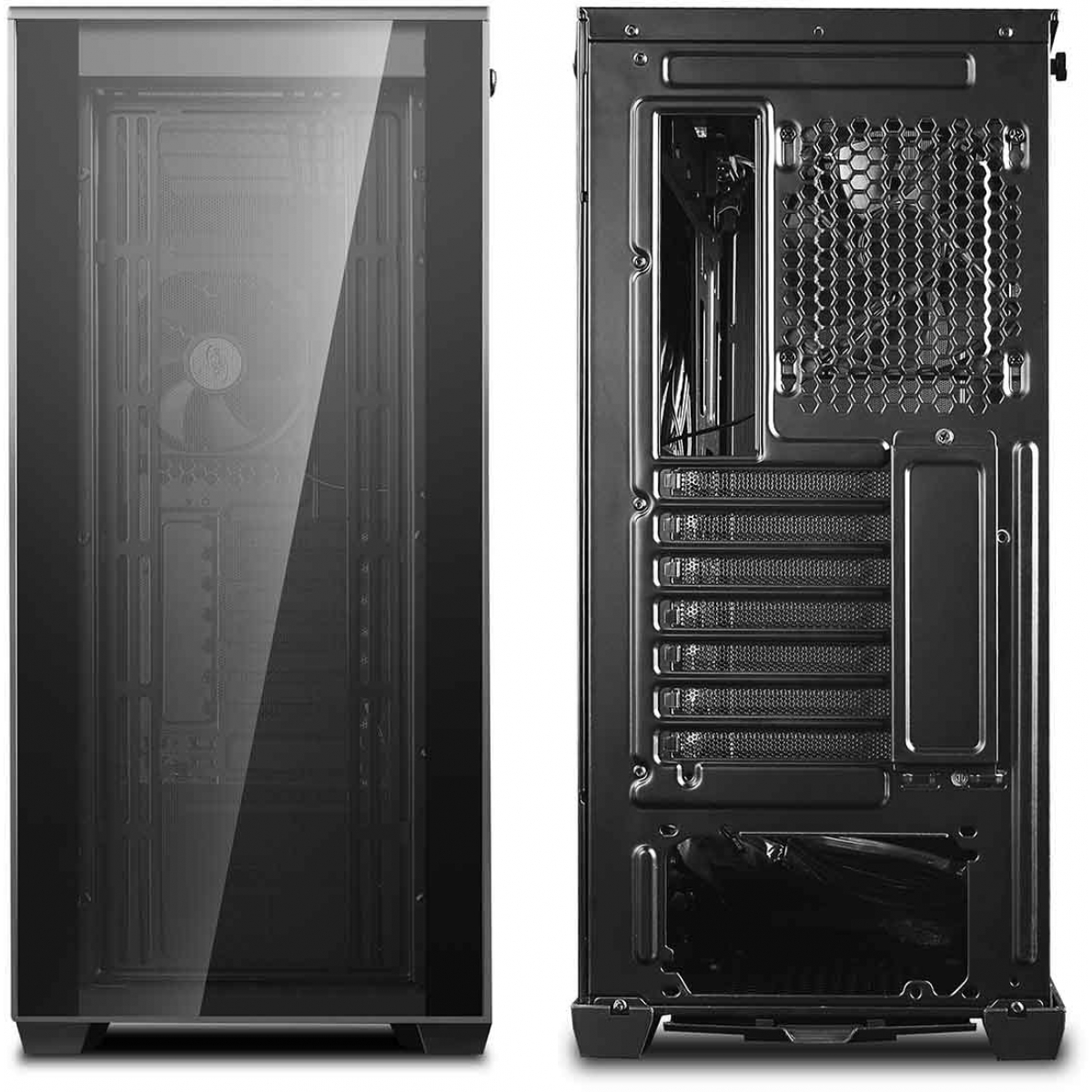 Gabinete Gamer DeepCool Matrexx 70, Mid Tower, Vidro Temperado, Black, S-Fonte, DP-ATX-MATREXX70-BKG0P