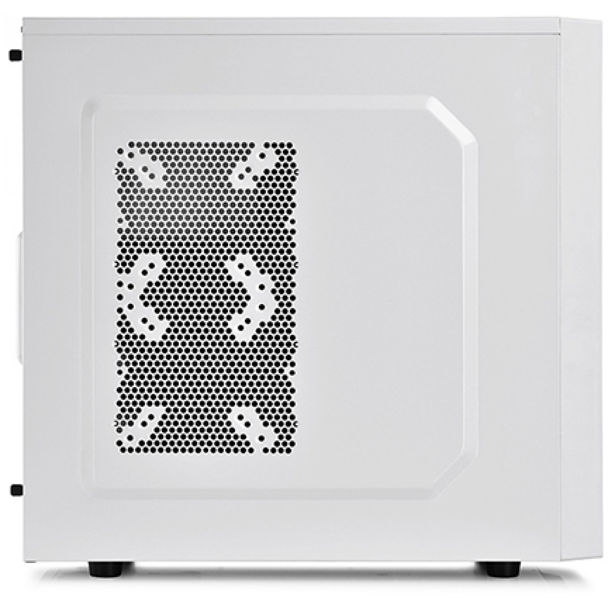 Gabinete Gamer DeepCool Tesseract WH, Mid Tower, Com 1 Fan, White, Sem Fonte, DP-CCATX-TSRWHBF