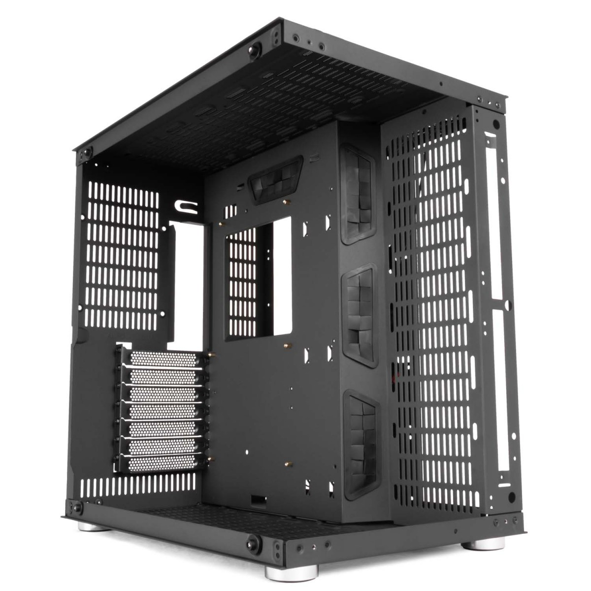 Gabinete Gamer DT3sports Hyperspace, Mid Tower, Vidro Temperado, Black, S-fonte