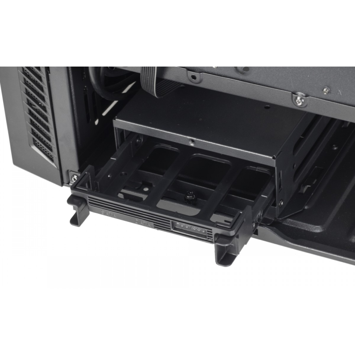 Gabinete Gamer DT3Sports Lynx, Mid Tower, Com 1 Fan, Lateral em Acrílico, Black, S-Fonte