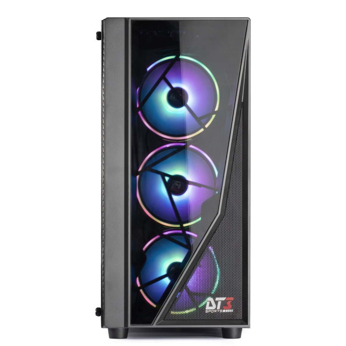Gabinete Gamer DT3Sports Lynx, Mid Tower, Com 1 Fan, Lateral em Acrílico, Black, S-Fonte