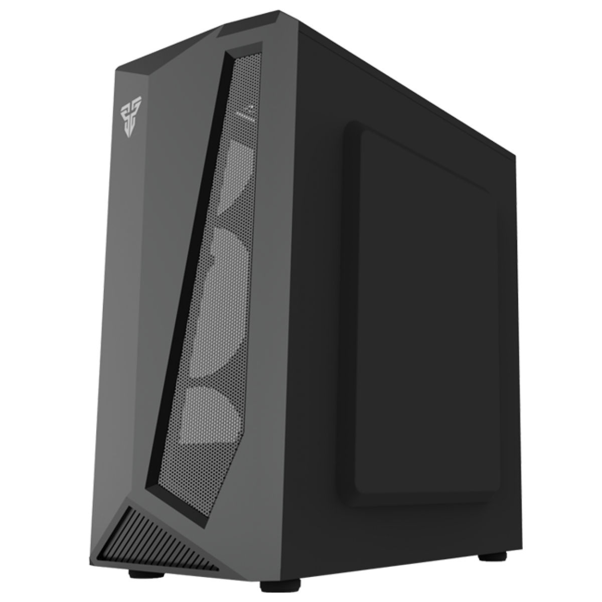 Gabinete Gamer Fantech Pulse, Mid Tower, Vidro Temperado, Black, RGB, ATX, Sem Fonte, Sem Fan, CG71