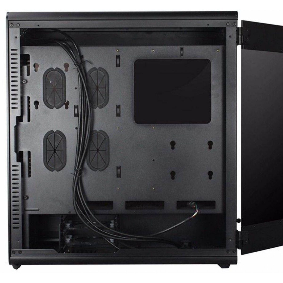 Gabinete Gamer Gamemax Raider X, Full Tower, S-Fan Lateral em Acrílico, Black, S-Fonte