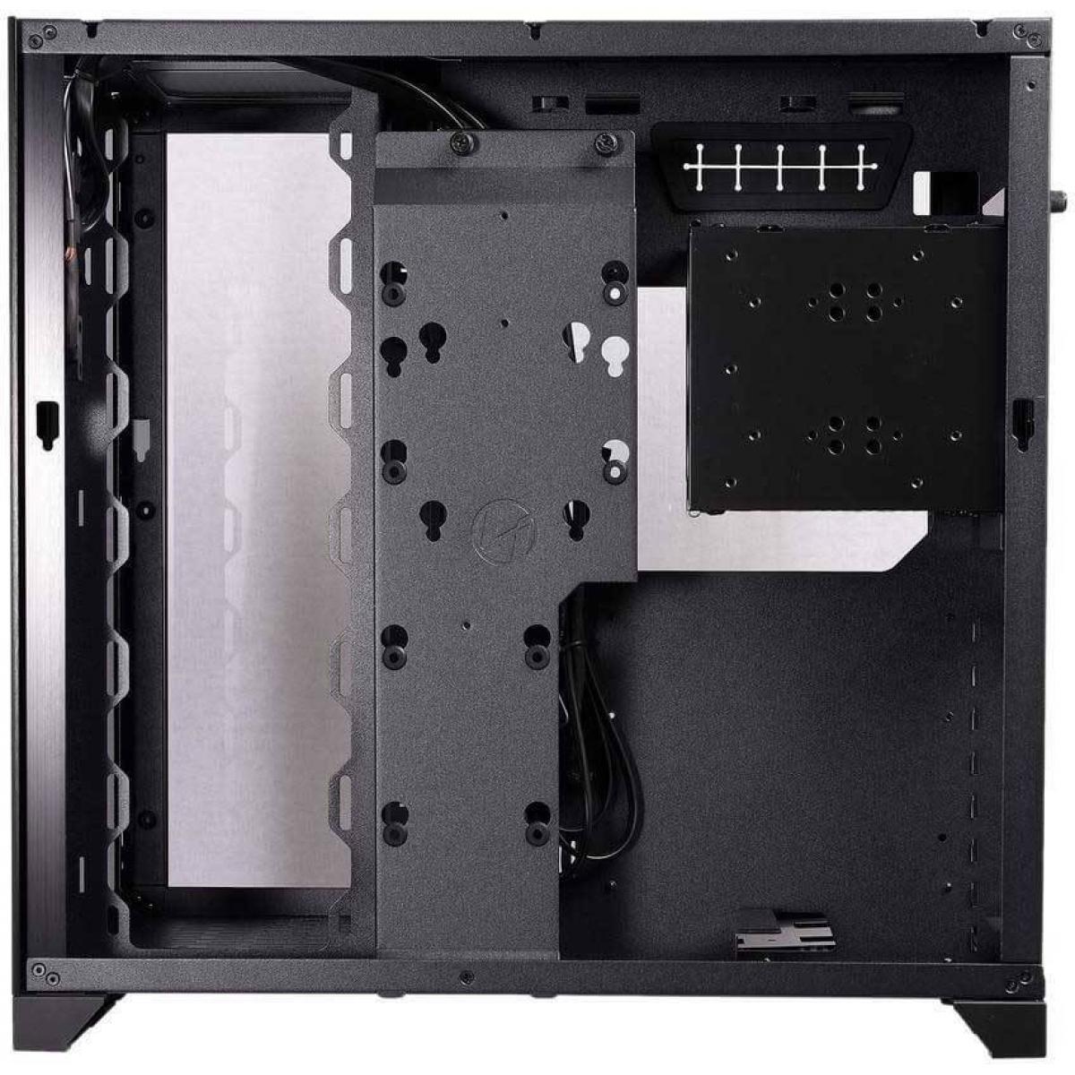 Gabinete Gamer Lian Li Dynamic Razer Edition RGB, Mid Tower, Vidro Temperado, Black, Sem Fonte