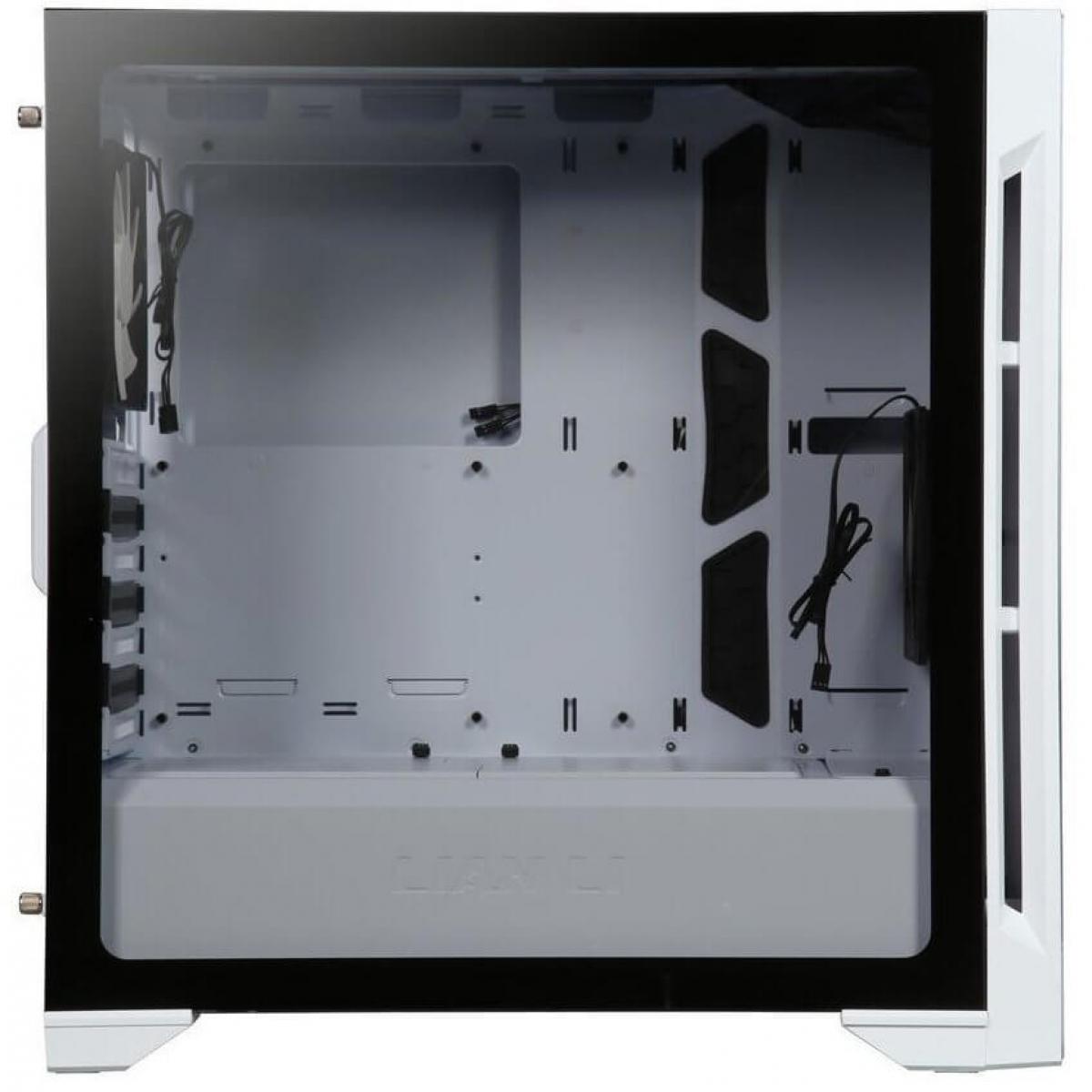 Gabinete Gamer Lian Li Lancool One Digital RGB, Mid Tower, Vidro Temperado, White, Sem Fonte