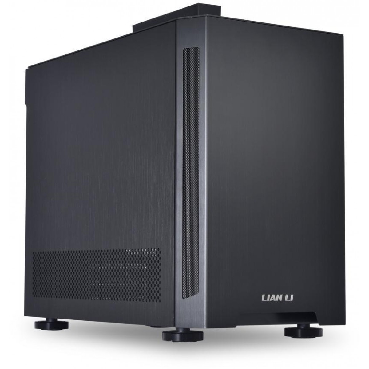 Gabinete Gamer Lian Li, TU150X, Mini Tower, Alumínio, Black, Sem Fonte, Sem Fan