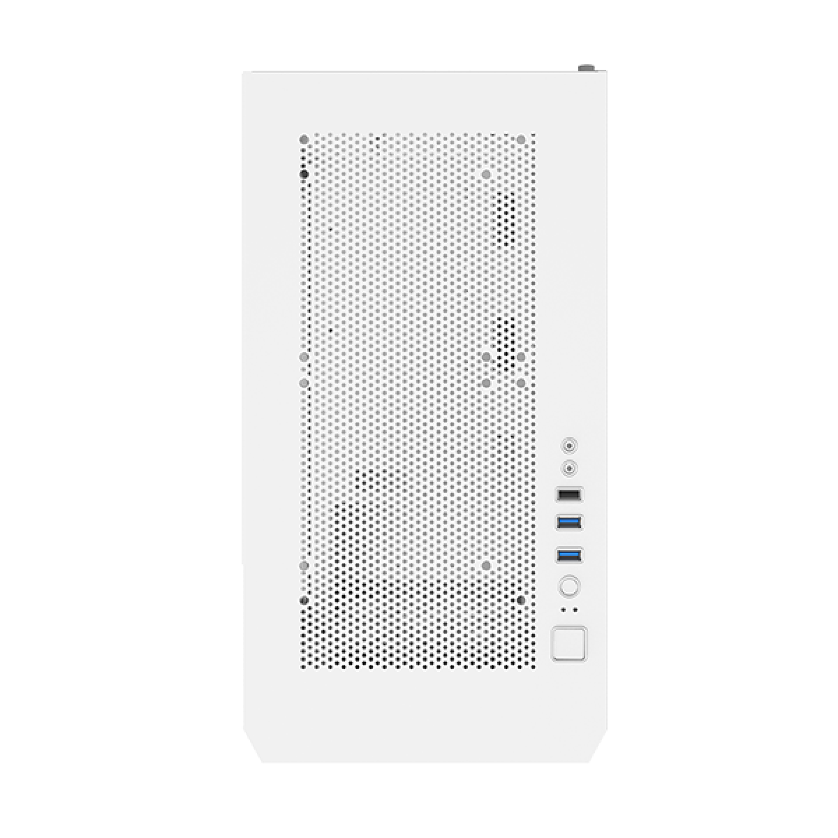 Gabinete Gamer Montech AIR 100 ARGB, Mini Tower, White, Micro ATX, 4 Fans, Vidro Temperado