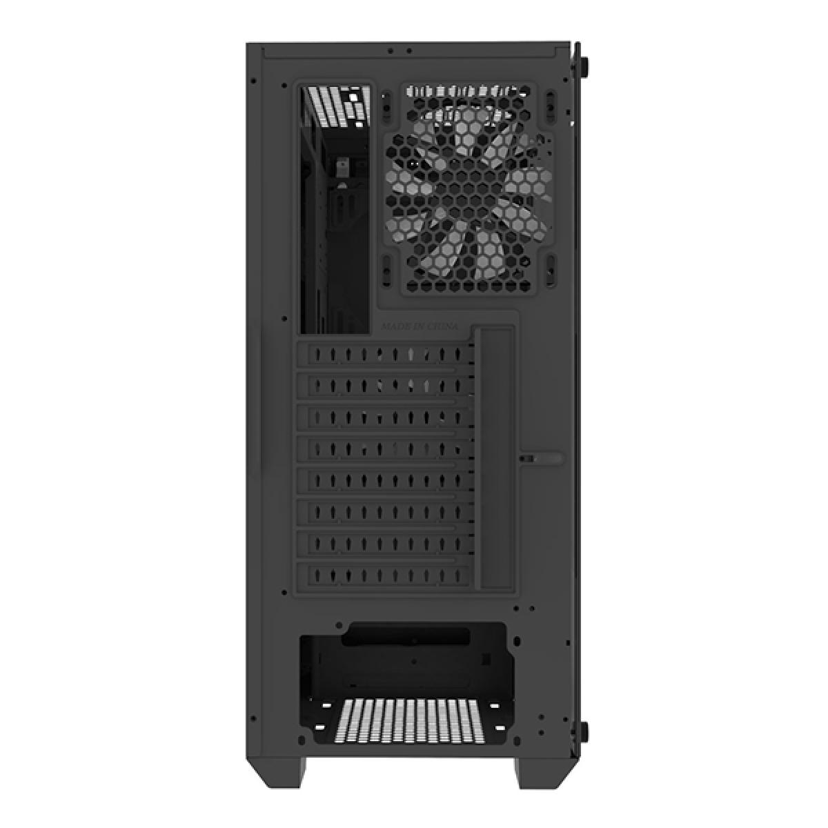 Gabinete Gamer Montech Air 900 Mesh, Mid Tower, Vidro Temperado, BLACK, ATX, Sem Fonte, Com 2 Fans