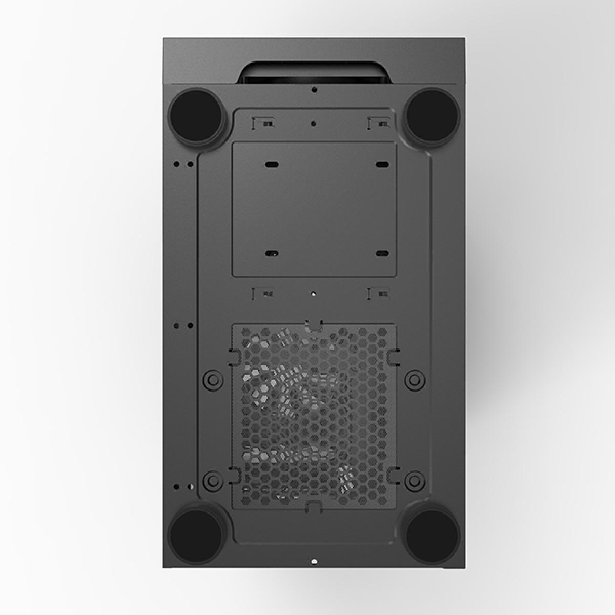 Gabinete Gamer Montech x3 MESH, Mid Tower, Black, ATX, Com 6 Fans RGB, Vidro Temperado, X3 MESH (B)