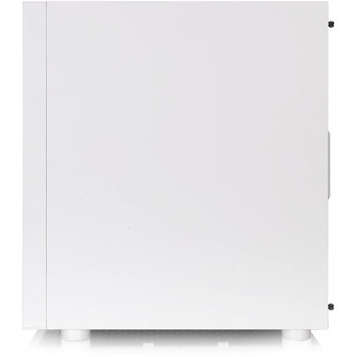 Gabinete Gamer Thermaltake H200 TG Snow RGB, Mid Tower, Vidro Temperado, White, Sem Fonte, CA-1M3-00M6WN-00